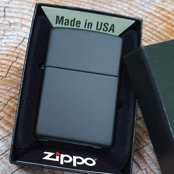 ZIPPO Black Matte 218 зажигалка