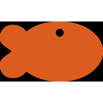 Рыбка алюминиевая